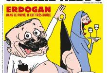 Photo of Charlie Hebdo троллит Эрдогана: опубликовал карикатуру на полуголого президента Турции