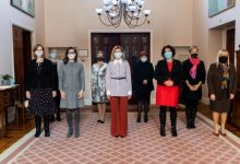 Photo of Елена Зеленская встретилась с женщинами-послами восьми государств в Украине