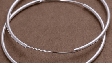 Photo of Серьги-кольца – счастливая бесконечность