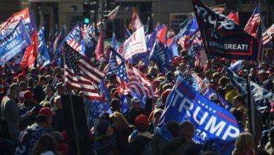 Photo of Сторонники Трампа вышли на митинг (видео)
