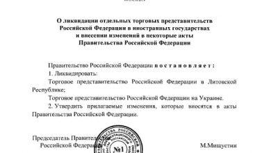 Photo of Россия ликвидирует торговое представительство в Украине