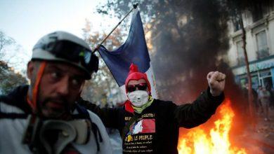 Photo of В Париже происходят уличные беспорядки и стычки с полицией (видео)