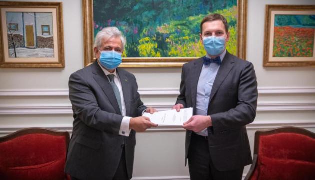 Новый посол Бразилии прибыл в Украину