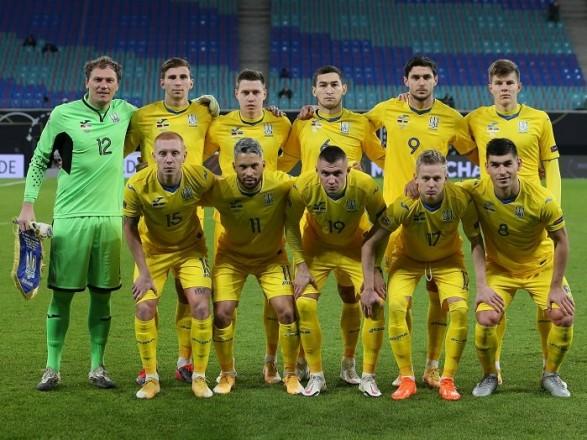 Сборная Украины сохранила место в заключительном рейтинге года ФИФА