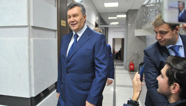 Дело о госизмене: суд перенес рассмотрение апелляции на заочный арест Януковича