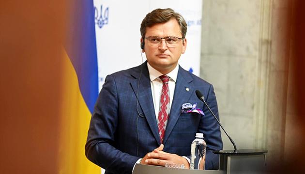 Отказ Германии поставлять вооружение Украине является политическим решением - Кулеба