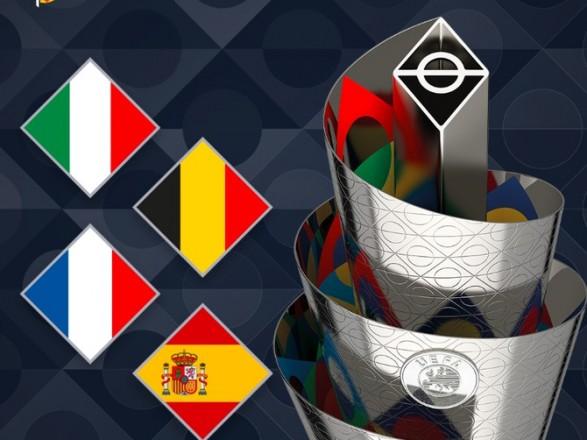 Две сборные стали заключительными участниками финала четырех Лиги наций