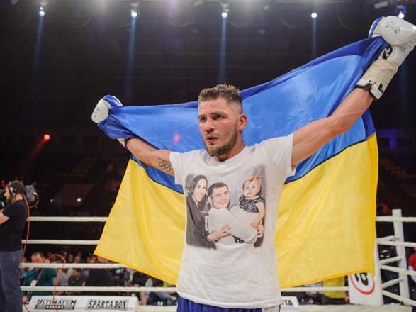 Боксер Беринчик нокаутом защитил титул чемпиона WBO International