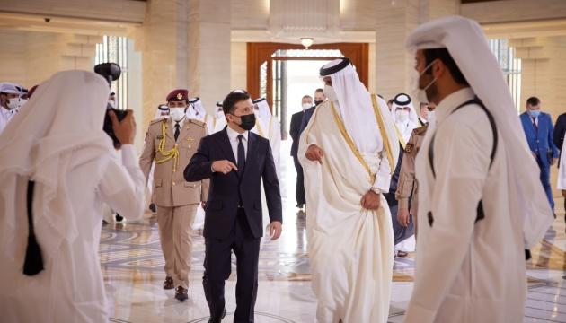 Подписанные в Катаре контракты дают «зеленый свет» для совместных проектов - Зеленский