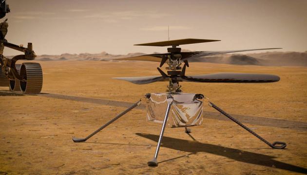 Минигеликоптер Ingenuity совершил шестой полет на Марсе